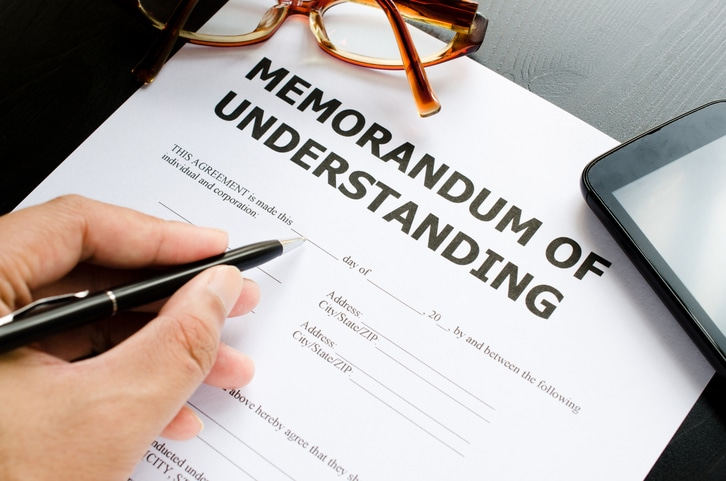 Sample Memorandum of Understanding